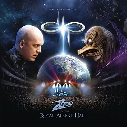 DEVIN TOWNSEND - Devin Townsend Presents: Ziltoid Live at the Royal Albert Hall - 3CD/DVD