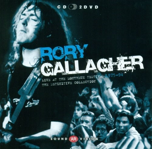 RORY GALLAGHER - Live At Montreux (CD/2DVD)