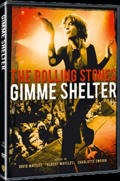 THE ROLLING STONES - Gimme Shelter - DVD