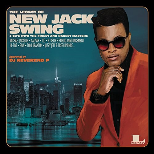 VARIOUS ARTISTS - The Legacy Of New Jack Swing (3CD)