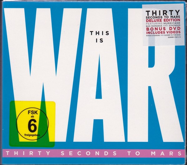 30 SECONDS TO MARS - This Is War [CD/DVD Combo] [Deluxe Edition]
