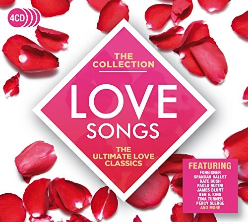 VARIOUS ARTISTS - Love Songs: The Collection (4CD)