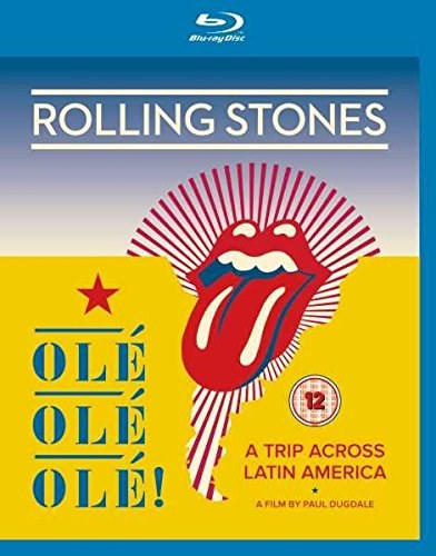 THE ROLLING STONES - Ole Ole Ole! - A Trip Across Latin America - Blu-ray