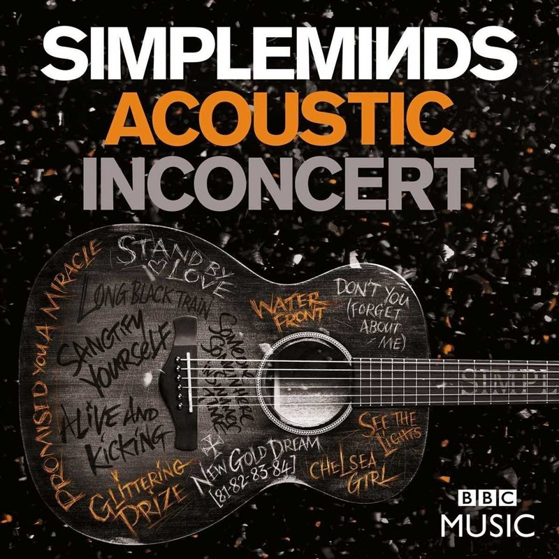 SIMPLE MINDS - Acoustic In Concert - DVD+CD