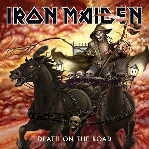 IRON MAIDEN - Death on the Road - 2LP