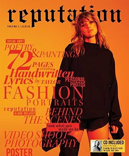 TAYLOR SWIFT - Reputation: Volume 1 (Magazine+CD Special Edition)