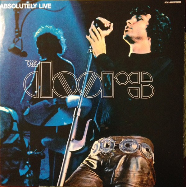 THE DOORS - Absolutely Live (Record Store Day 2017 Limited Edition Midnight Blue Vinyl) - 2LP