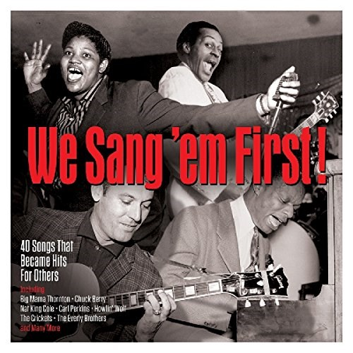 VARIOUS ARTISTS - We Sang 'Em First (2CD)