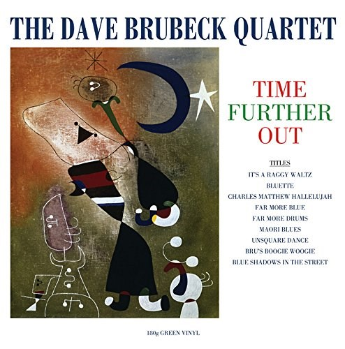 DAVE BRUBECK - Time Further Out - LP