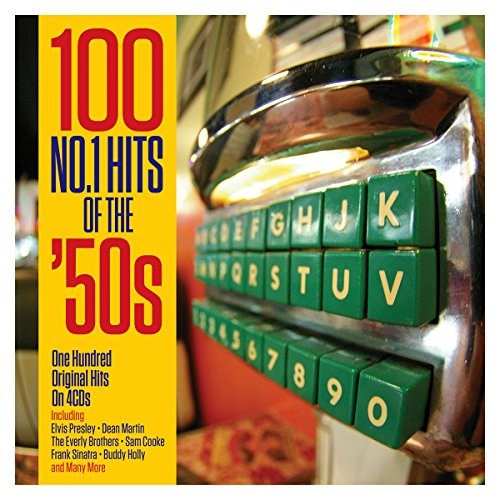 VARIOUS ARTISTS - 100 No.1 Hits Of The '50s (4CD)