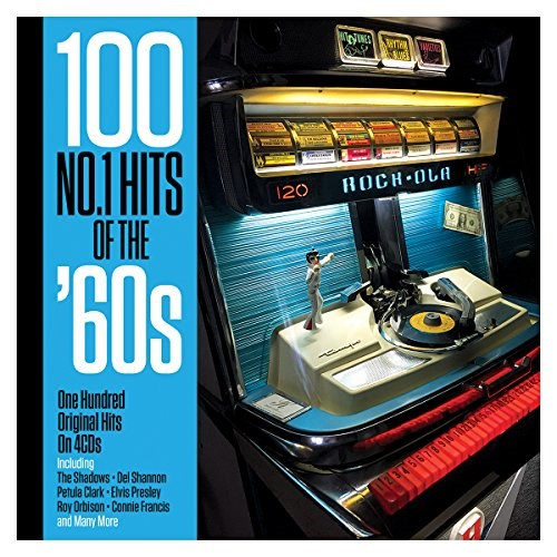 VARIOUS ARTISTS - 100 No.1 Hits Of The '60s (4CD)