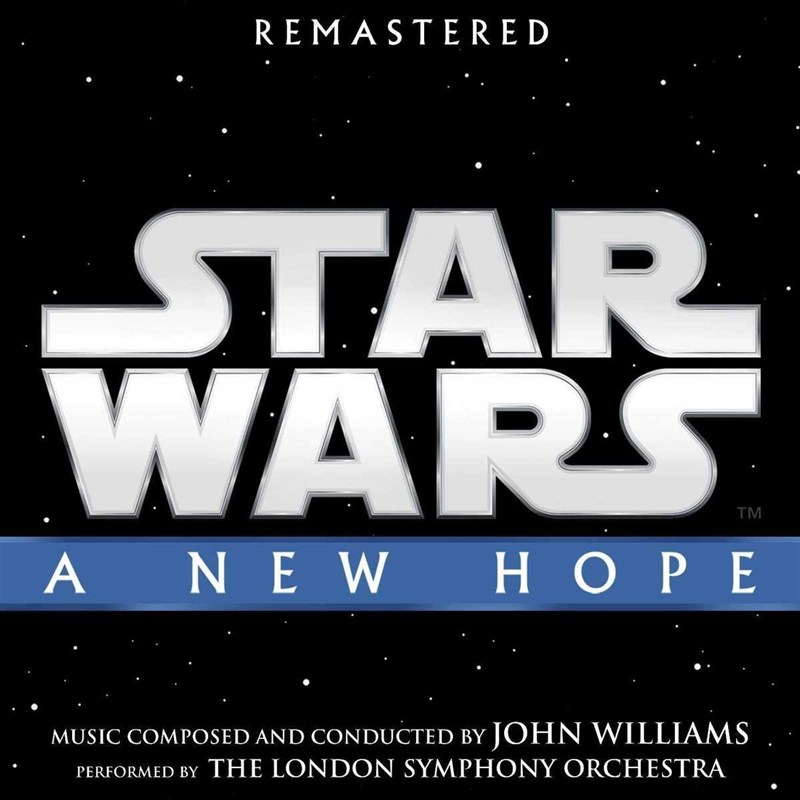 SOUNDTRACK - Star Wars: A New Hope (Remastered edition)