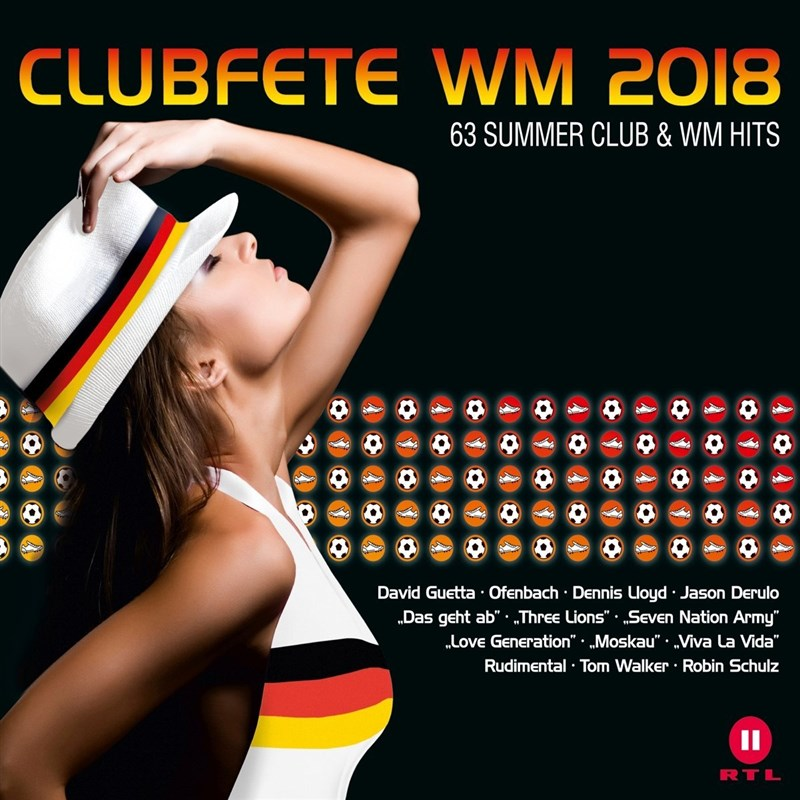 VARIOUS ARTISTS - Clubfete Wm 2018 (3CD)