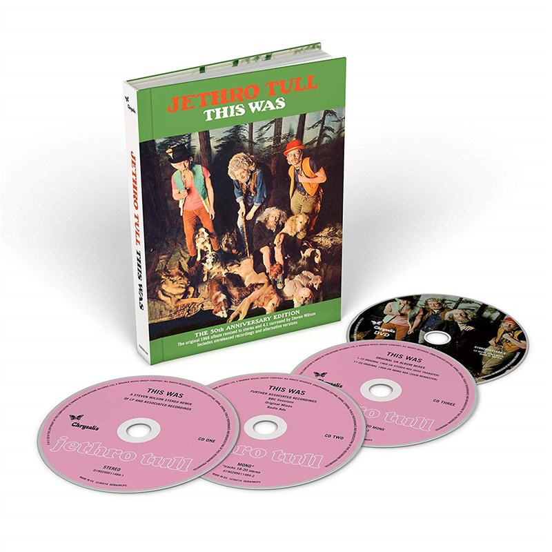 JETHRO TULL - This Was (50th Anniversary Edition) (3CD/1DVD) - BOX SET