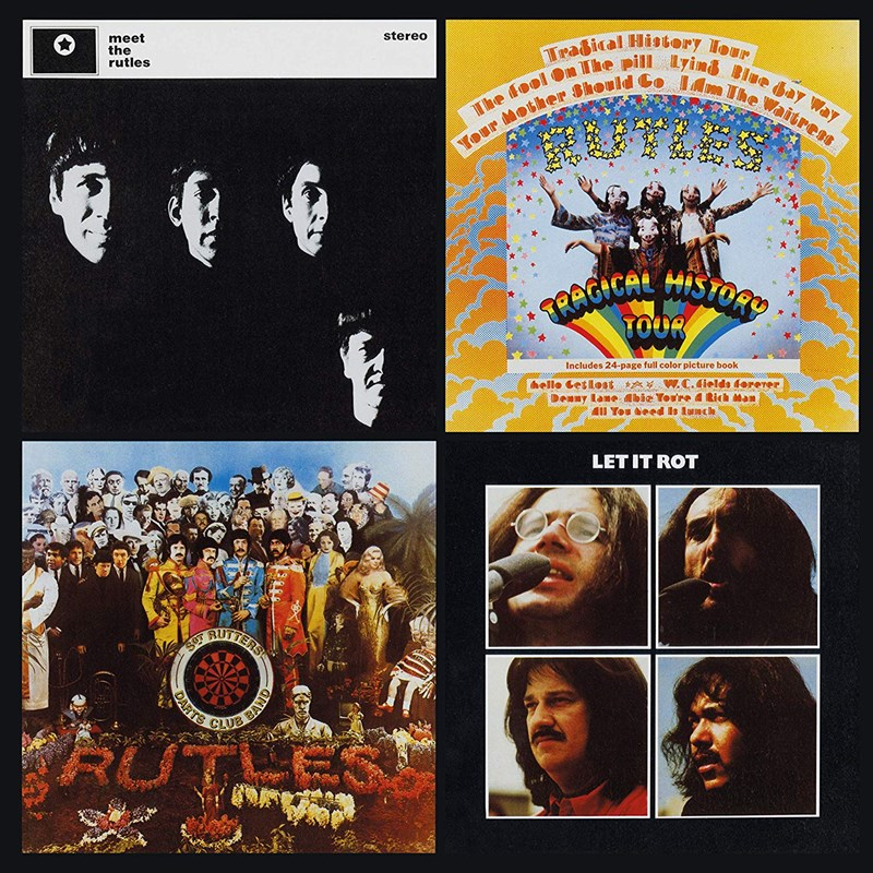 THE RUTLES - The Rutles - 2LP