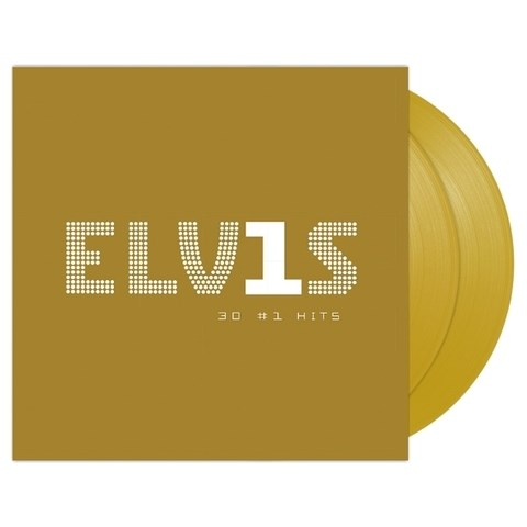 ELVIS PRESLEY - 30 #1 Hits (Gold Vinyl) - 2LP