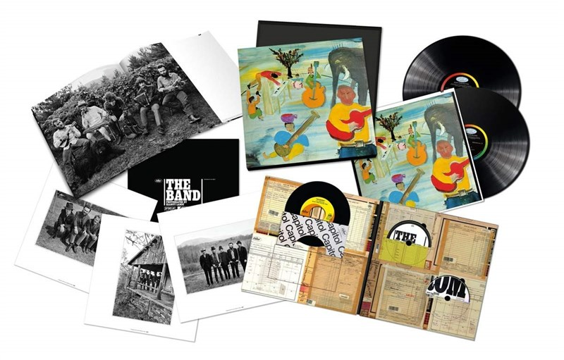 "THE BAND - Music From Big Pink - 50th Anniversary [2LP/CD/7""/Blu-ray Audio] - Super Deluxe Box Set"