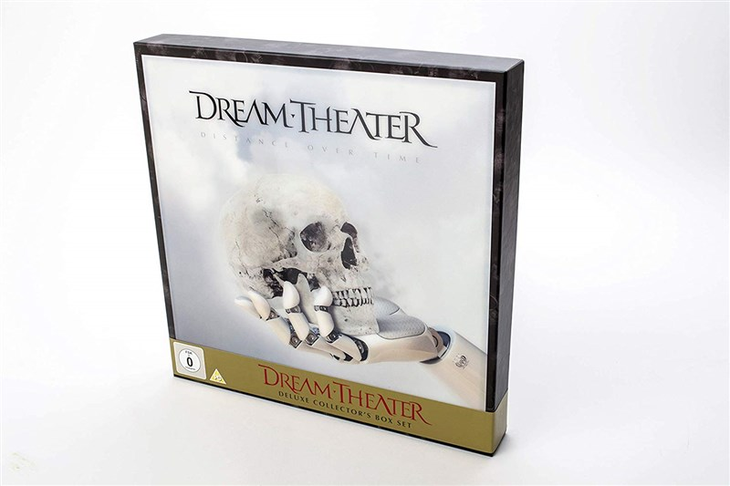 "DREAM THEATER - Distance Over Time (Deluxe Collector's Edition) (2LP+2CD+7"" Vinyl EP+Blu-Ray+DVD) - BOX SET"