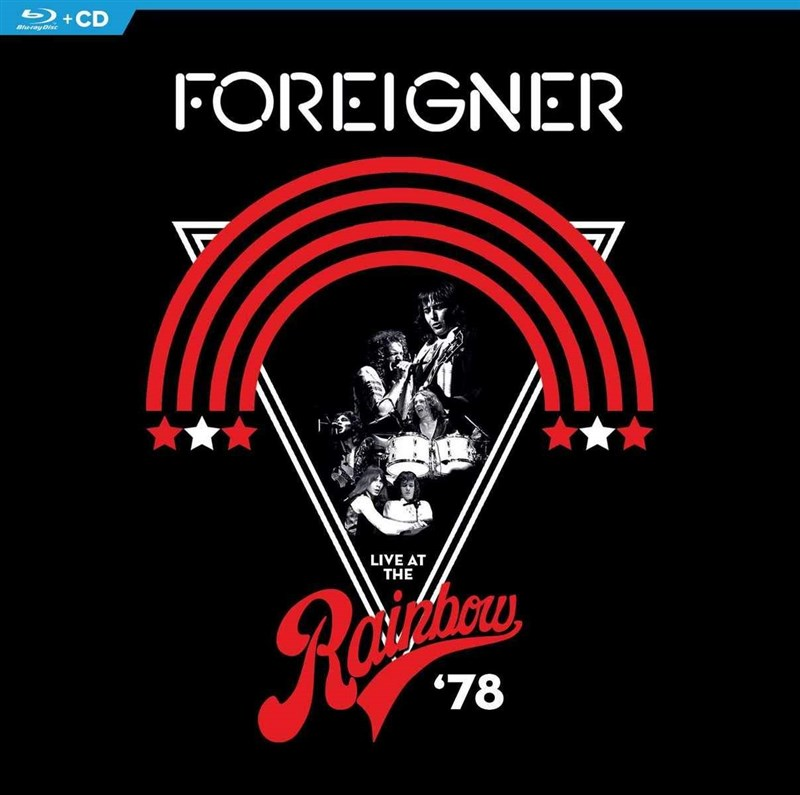FOREIGNER - Live At The Rainbow '78 [Blu-ray+CD]