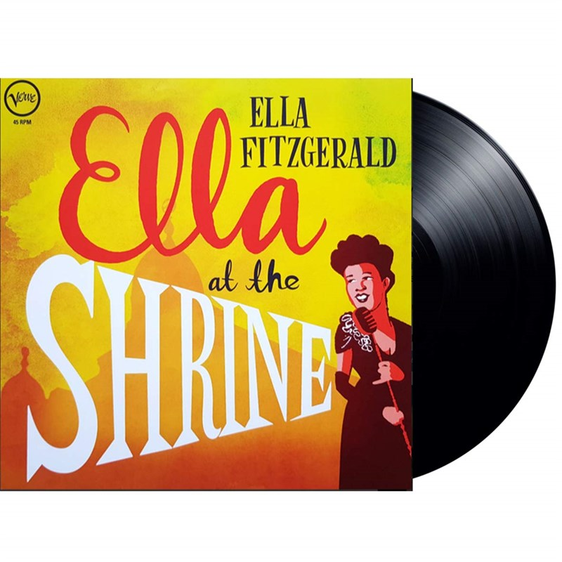 ELLA FITZGERALD - Ella At The Shrine - LP