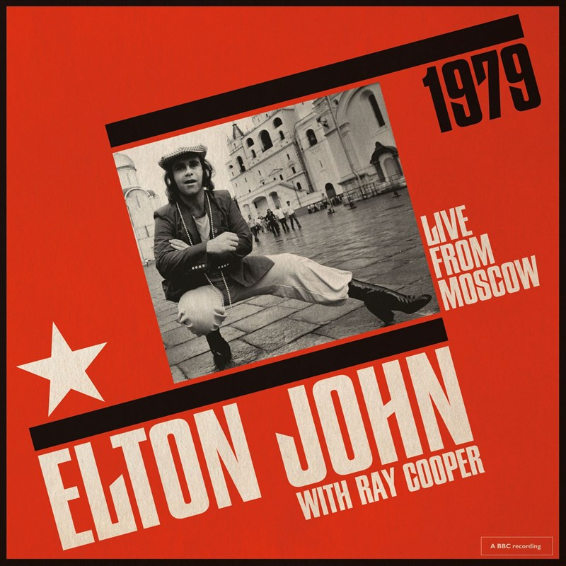 ELTON JOHN - Live From Moscow - 2LP