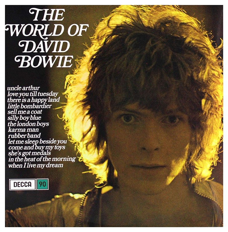DAVID BOWIE - The World Of David Bowie (Limited Edition Blue Vinyl) - LP