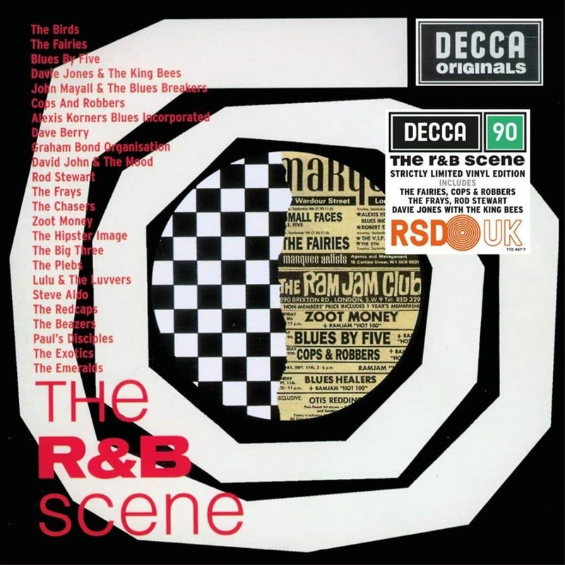 VARIOUS ARTISTS - The R&B Scene (Limited Edition) - 2LP