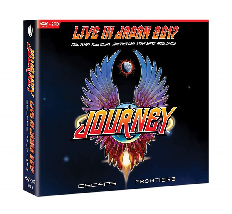 JOURNEY - Escape & Frontiers Live In Japan [2CD/DVD]
