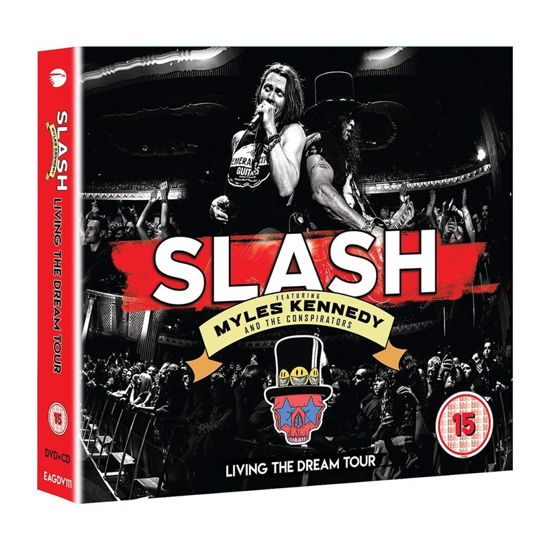SLASH - Living The Dream Tour (2CD/DVD)