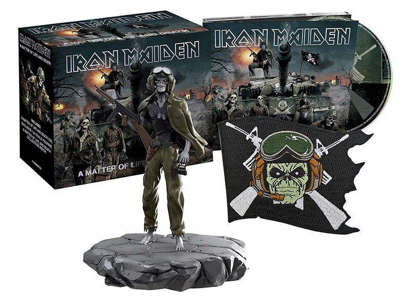 IRON MAIDEN - A Matter Of Life And Death (Limited Collector's Edition) - BOX SET