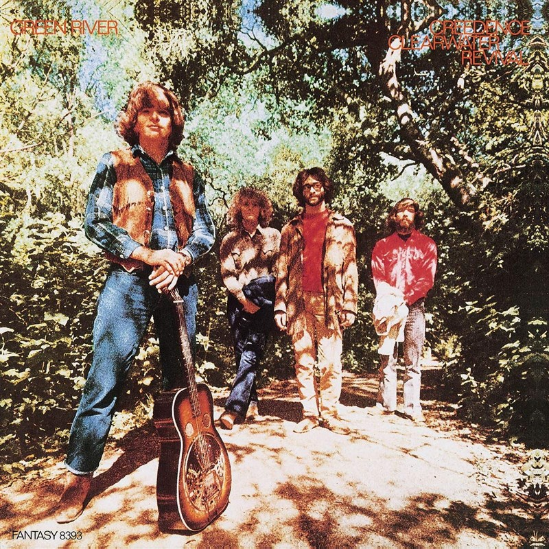 CREEDENCE CLEARWATER REVIVAL - Green River [Half Speed Master] - LP