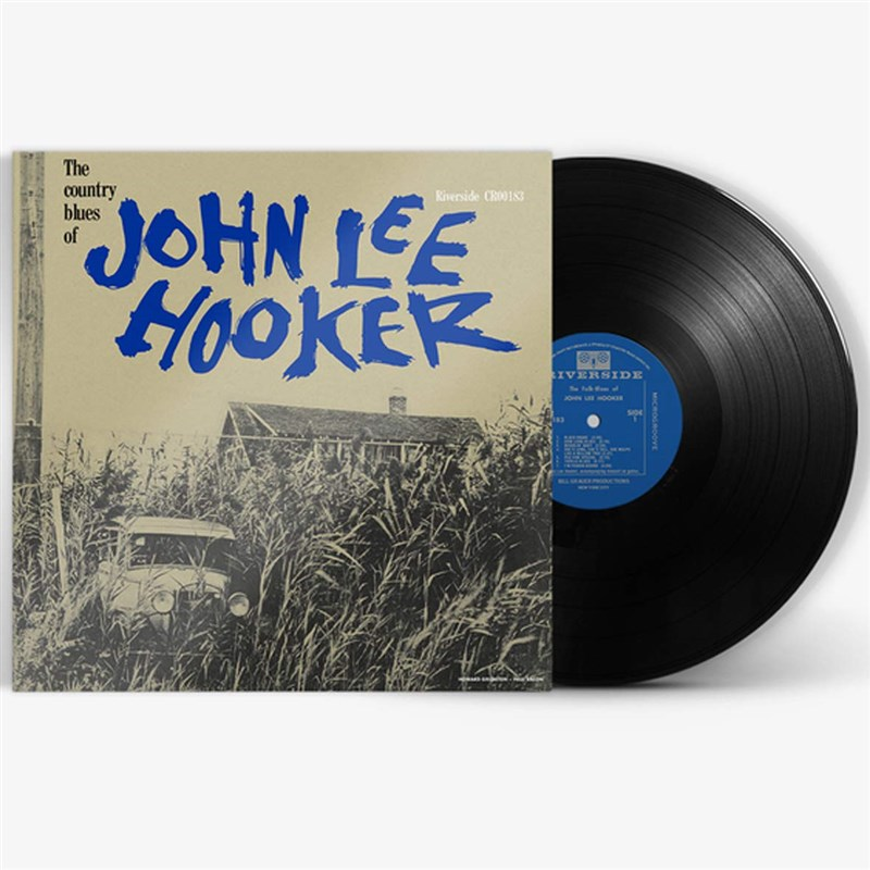JOHN LEE HOOKER - The Country Blues Of - LP