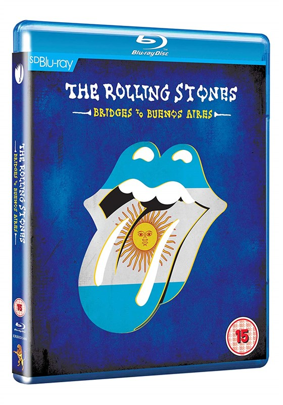 THE ROLLING STONES - Bridges To Buenos Aires - Blu-ray