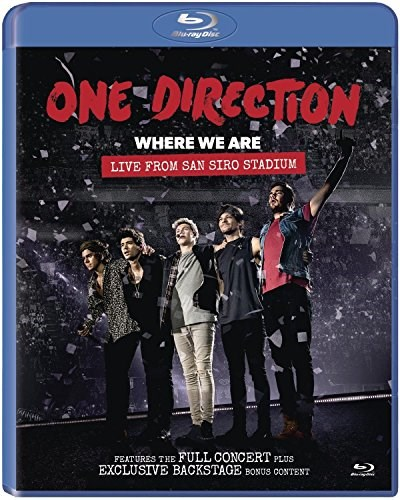 ONE DIRECTION - One Direction: 'Where We Are' Live from San Siro Stadium - BLU-RAY