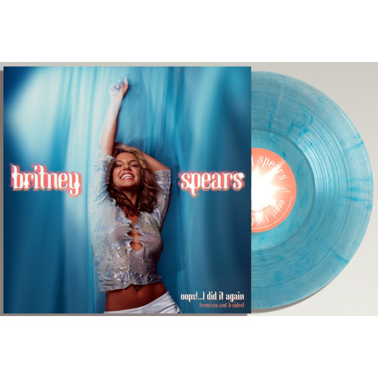 BRITNEY SPEARS - Oops!...I Did It Again (Remixes And B-Sides) (Coloured Vinyl) - LP