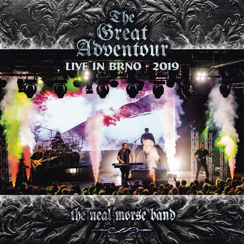 NEAL MORSE - The Great Adventour - Live in BRNO 2019 (2CD+2BLU-RAY)