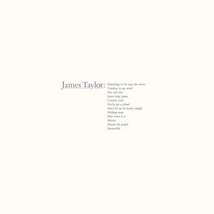 JAMES TAYLOR - Greatest Hits (2019 Remaster) - LP