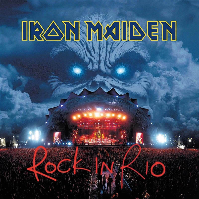 IRON MAIDEN - Rock In Rio - Remastered 2020 (2CD)