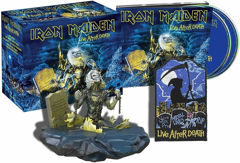 IRON MAIDEN - Live After Death (Limited Collector's Edition) - BOX SET