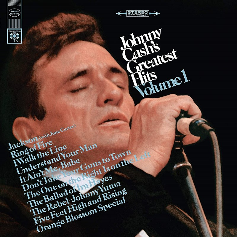 JOHNNY CASH - Greatest Hits, Volume 1 - LP