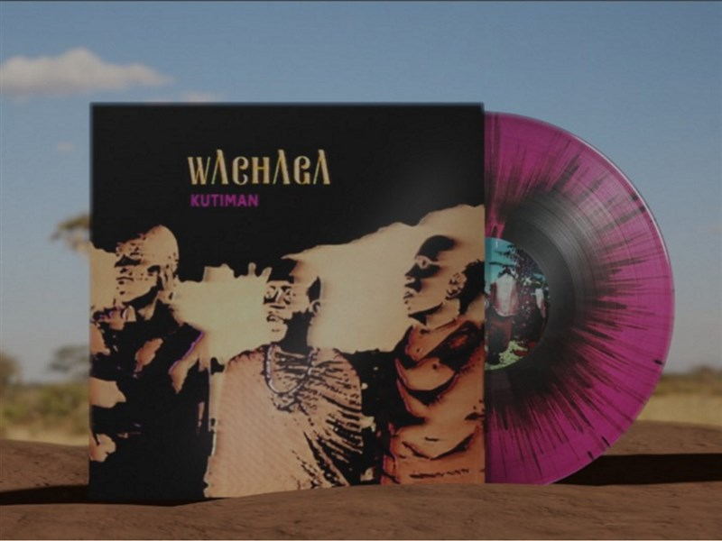 קותימאן - Wachaga (Pink and Black Splatter Vinyl) - תקליט צבעוני