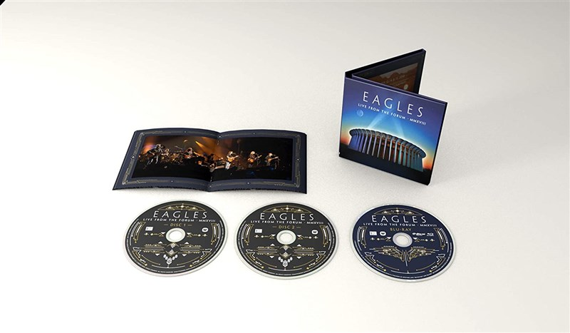 EAGLES - Live From The Forum MMXVIII - 2CD/BLU-RAY