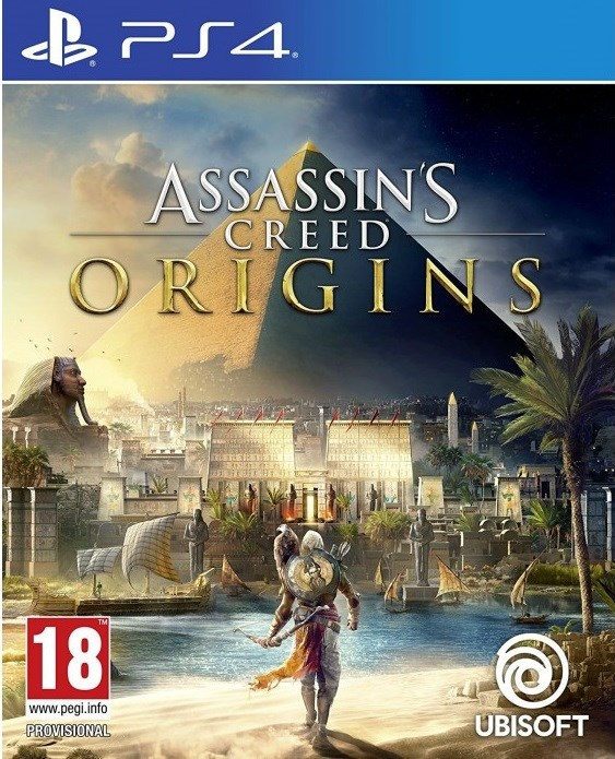 משחק קונסולה - Assassins Creed: Origins -  PS4