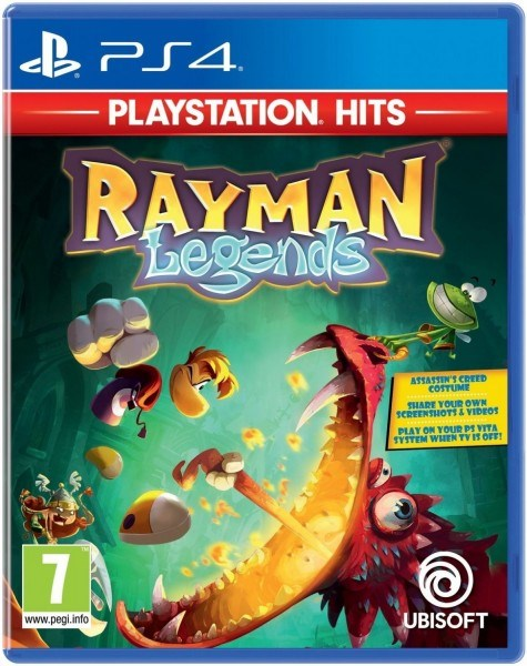 משחק קונסולה - Rayman Legends: Playstation Hits - PS4