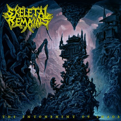 SKELETAL REMAINS - The Entombment Of Chaos (Ltd. CD Digipak incl. Patch)