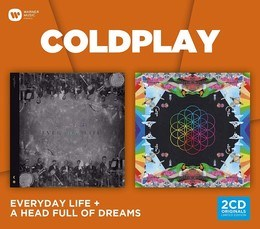 COLDPLAY - Everyday Life / A Head Full Of Dreams - 2CD SET