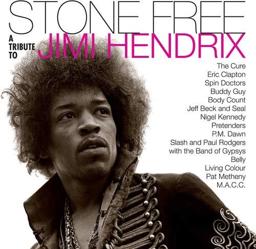 VARIOUS ARTISTS - Stone Free: A Tribute To Jimi Hendrix (Clear And Black Vinyl) - 2LP