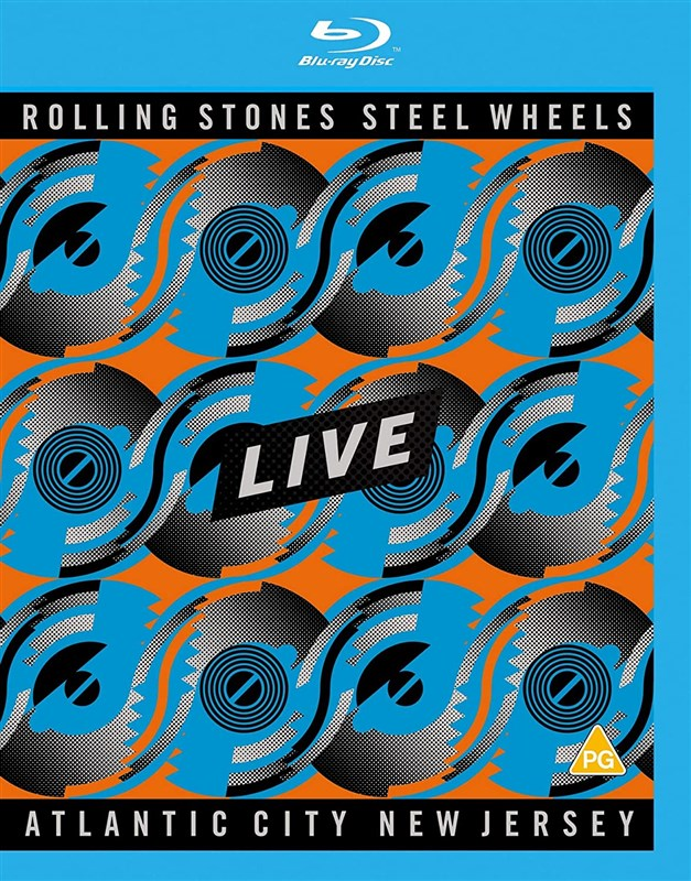 THE ROLLING STONES - Steel Wheels Live: Atlantic City, New Jersey [Blu-ray]