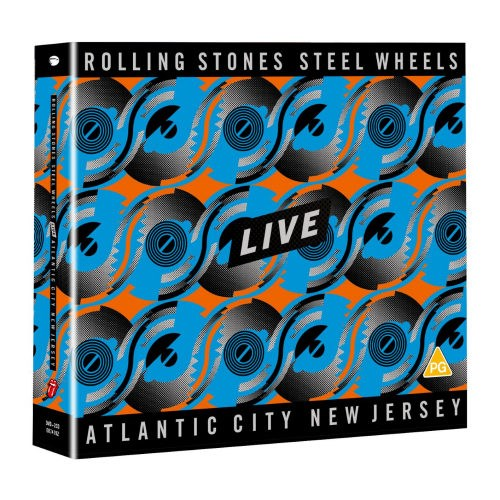THE ROLLING STONES - Steel Wheels Live: Atlantic City, New Jersey [2CD+DVD]
