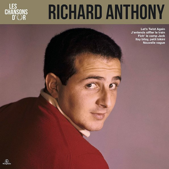 RICHARD ANTHONY - Les Chansons D'or - LP